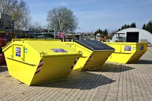 Containerdienst im Saarland Illingen und Umgebung
